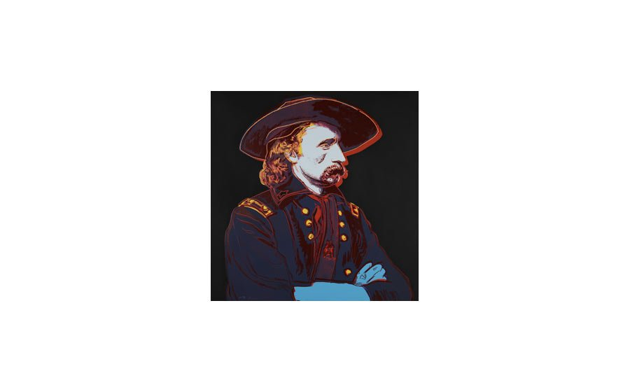 Andy Warhol, General Custer, 1986, screenprint