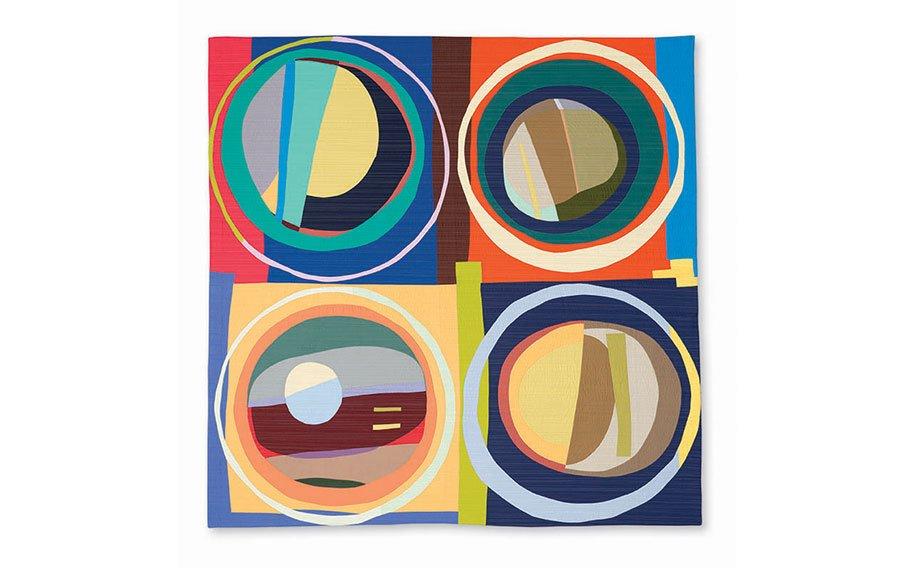 Circular Abstractions: Bull's Eye Quilts