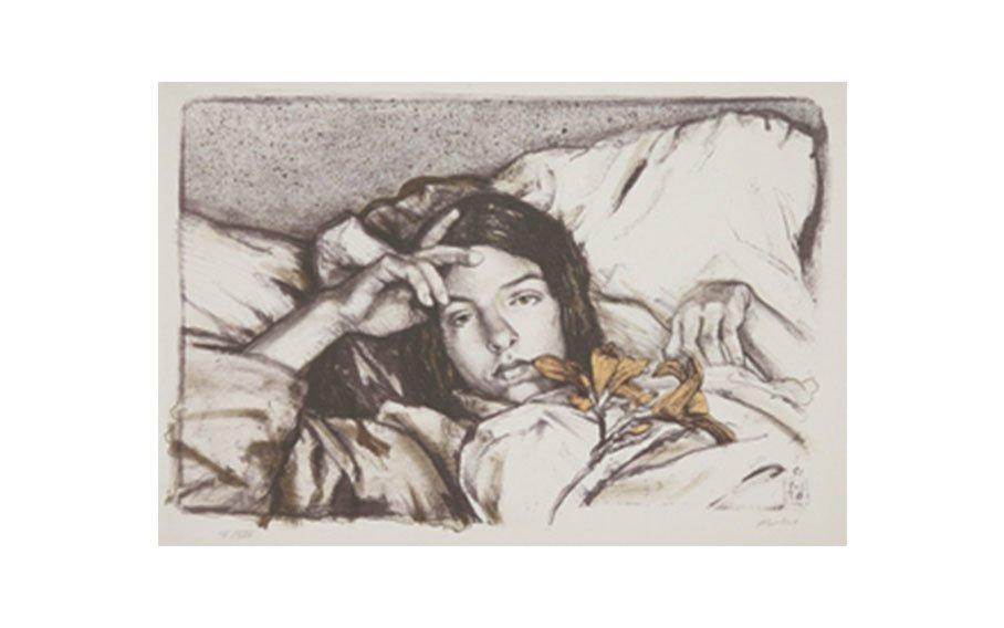 Sigmund Abeles, Tiger Lily, 1978, lithograph