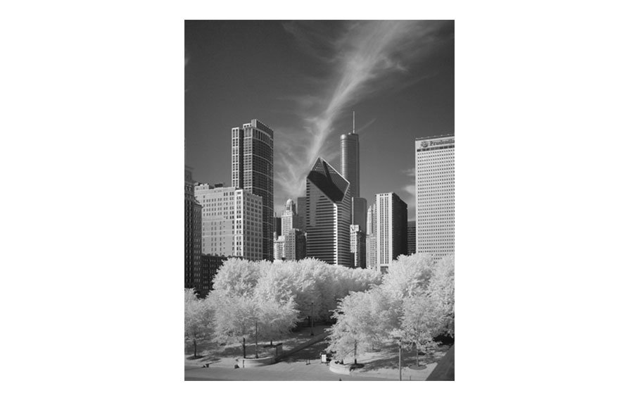 Christopher Light, View from the Art Institute Bridge, Chicago, IL, 2010