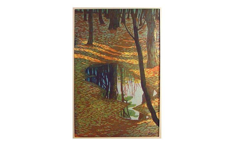Shiro Kasamatsu, In the Woods, 1955