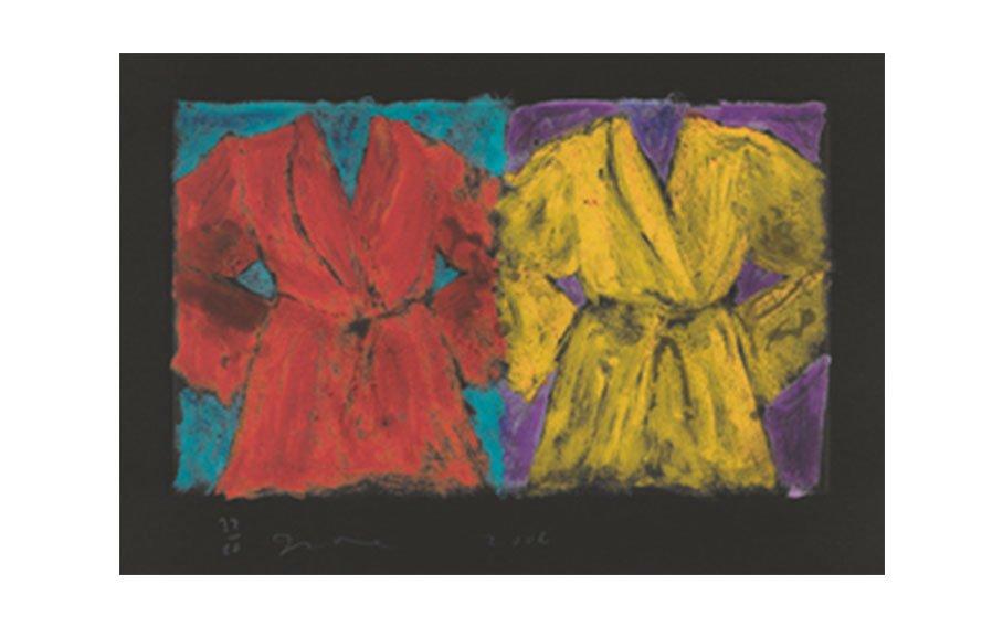 Jim Dine, The Henry Street Robes, 2006