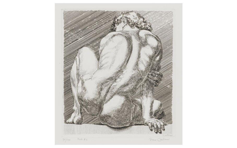 Paul Cadmus, Nudo #2, from Series of 3, 1984