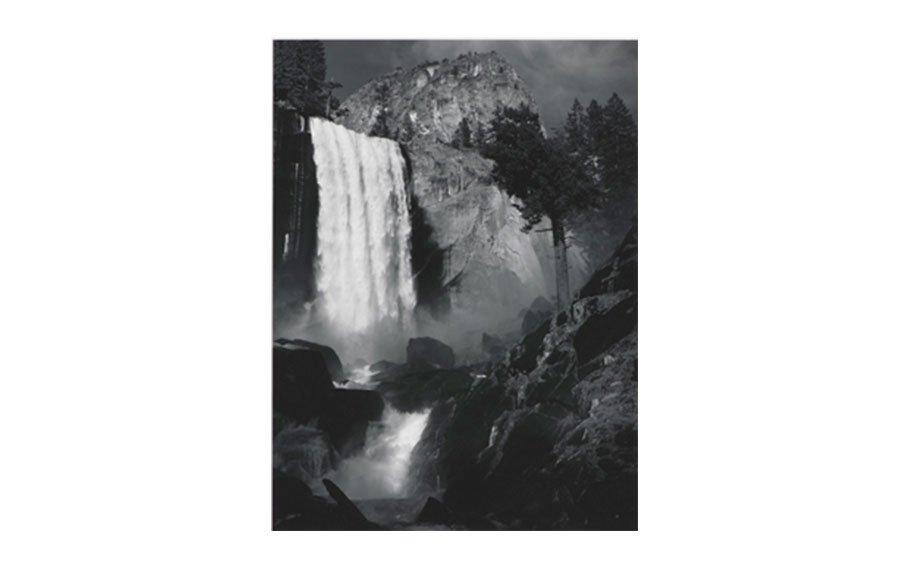 Ansel Adams, Vernal Fall, Yosemite Valley, California, 1920