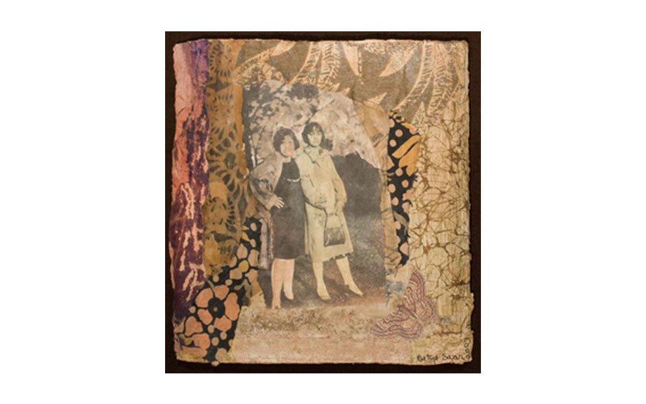 Betye Saar, Two Women in Coats, 2003, collage