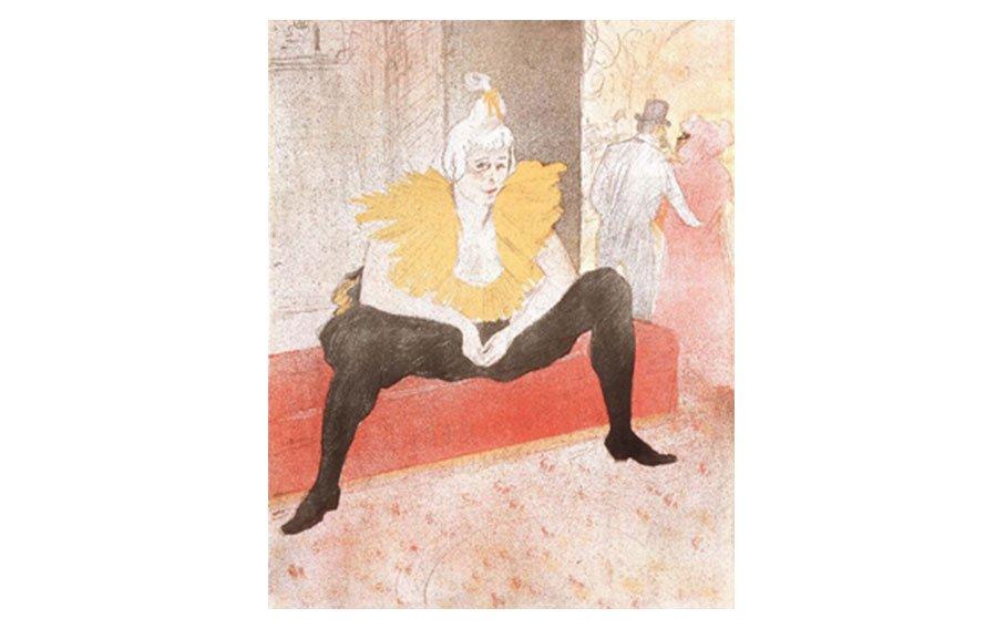 Henri Toulouse-Lautrec: Seated Clown