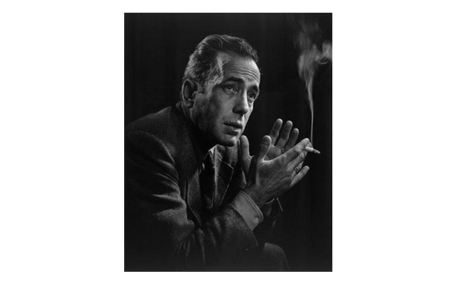 Yousuf Karsh, Humphrey Bogart, 1946, gelatin silver print
