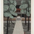 Kiyoshi Saito 斎藤 清 (1907-1997), Miyoshin-Ji Kyoto, color woodblock print. Collection of the Kalamazoo Institute of Arts; Gift of Hazel Hammond, 2009.84